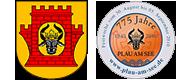 Wappen Plau am See - 775 Jahre